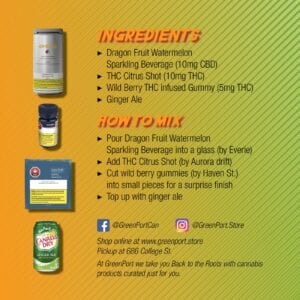 GreenPort High Tropics Drink Recipe